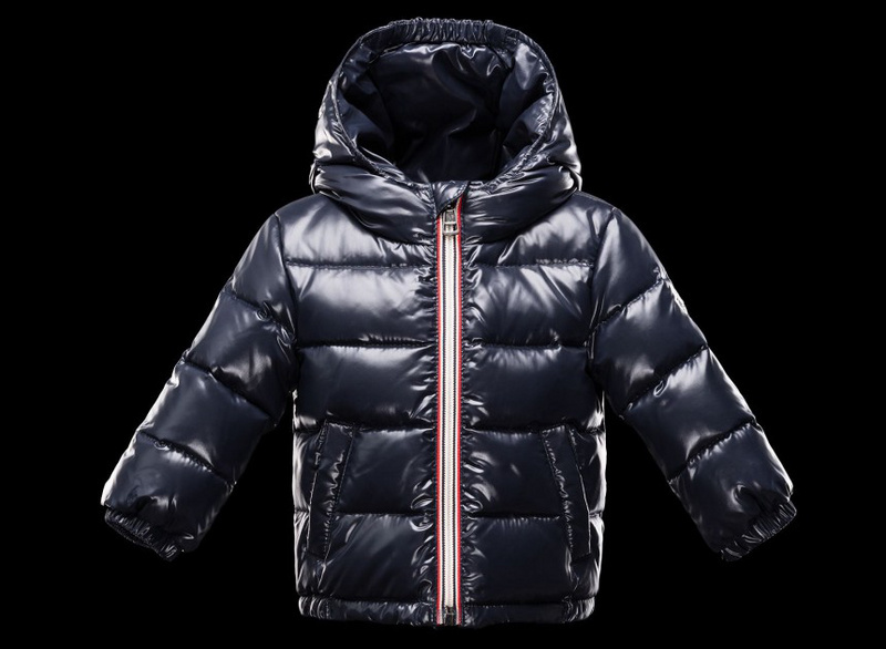 New Cheap Moncler Kids Coats Deep Blue Sale NA1080