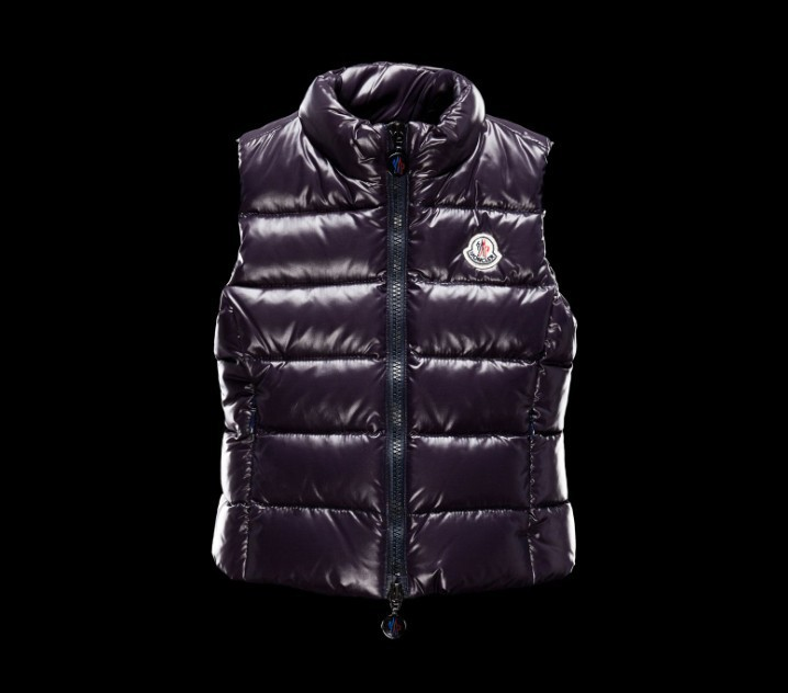 New Cheap Moncler Kids Vests Purple Sale NA1076