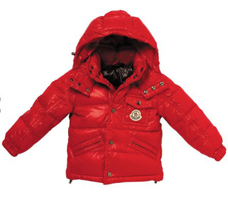 Cheap Moncler Kids Down Jackets Red MC1413 Sale