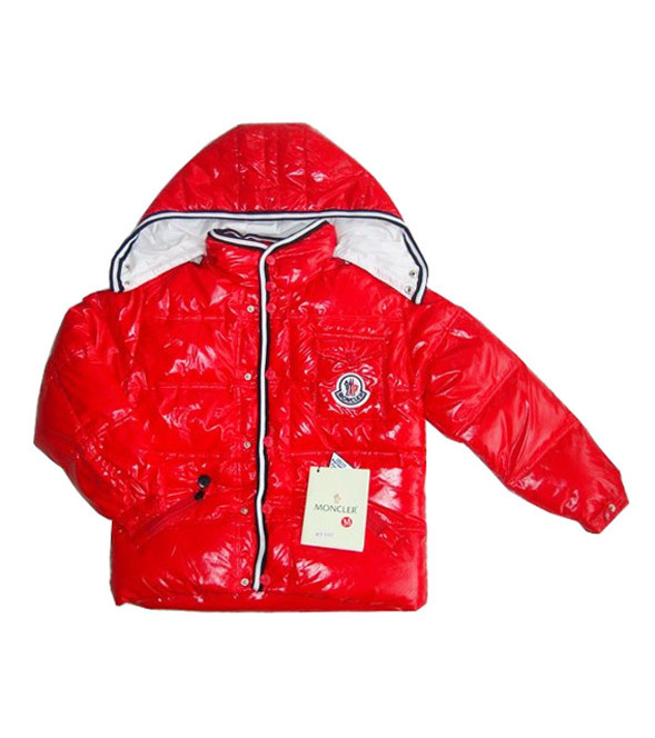 Cheap Moncler Kids Down Jackets Red MC1415 Sale