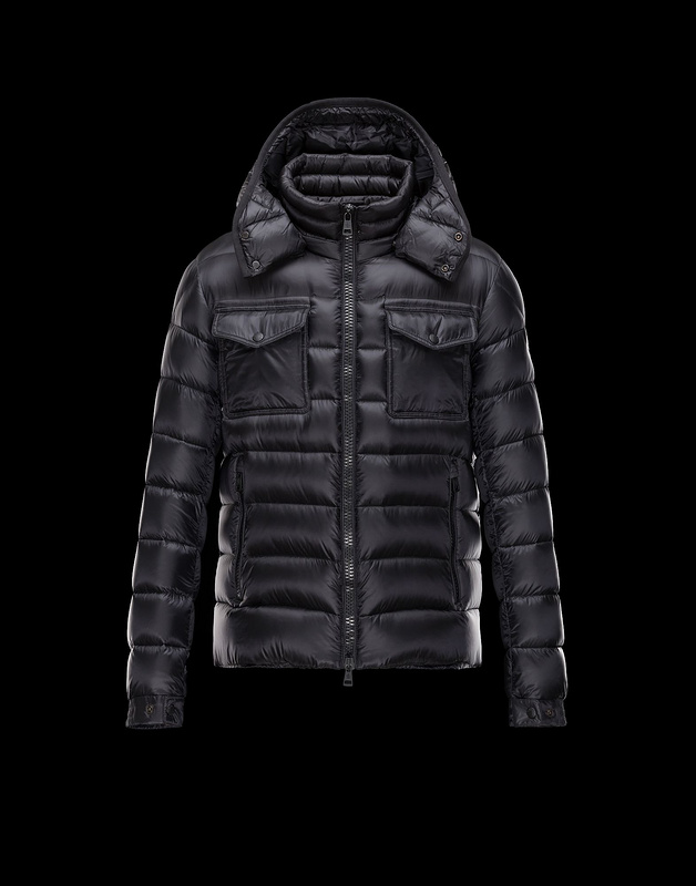 New Cheap Moncler Men Jackets Black Sale NA1008