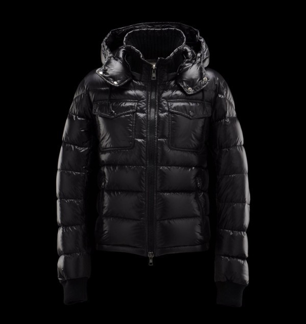 New Cheap Moncler Men Jackets Black Sale NA1024