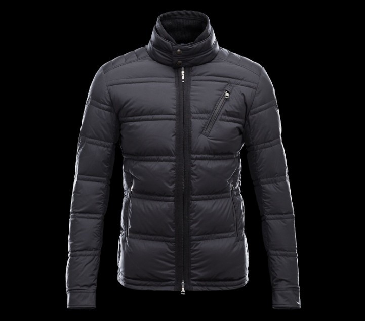 New Cheap Moncler Men Jackets Black Sale NA1027