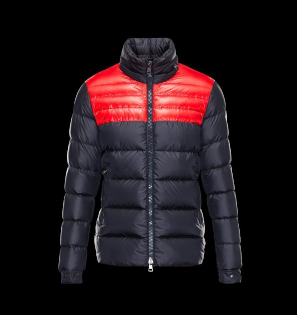New Cheap Moncler Men Jackets Blue and Red Sale NA1016