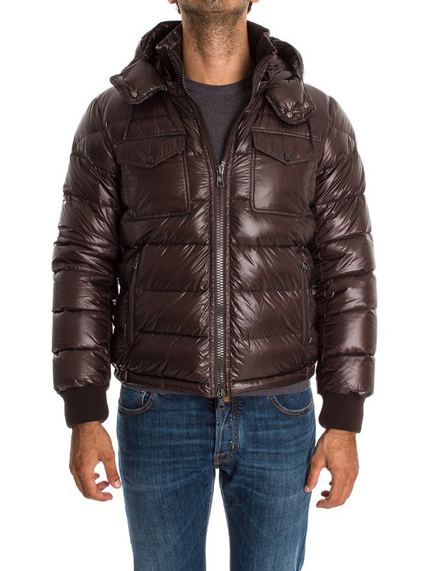 New Cheap Moncler Men Jackets Brown Sale NA1025