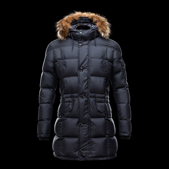 Cheap Moncler Down Coats For Men Blue MC1306 Sale