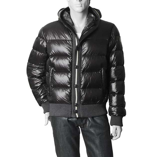 Cheap Moncler Down Jackets For Men Brown MC1325 Sale