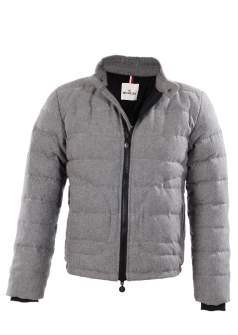 Cheap Moncler Down Jackets For Men Grey MC1376 Sale