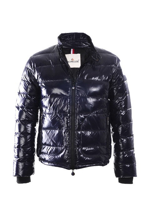 Cheap Moncler Down Jackets For Men Navy MC1375 Sale