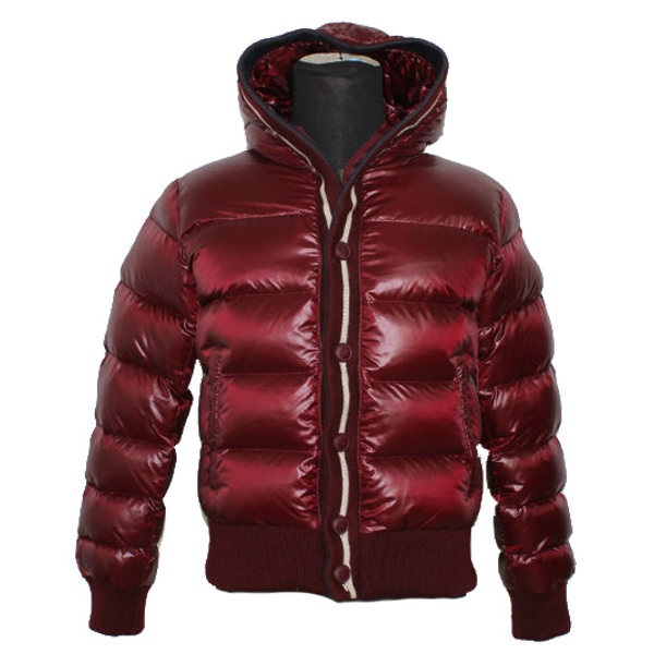 Cheap Moncler Down Jackets For Men Red MC1324 Sale