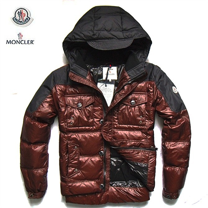 Cheap Moncler Jackets For Men Black_Claret MC1010 Sale
