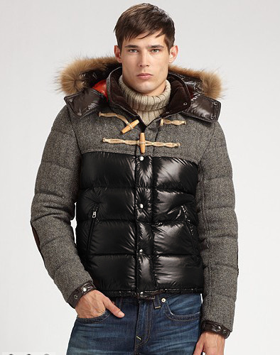 Cheap Moncler Jackets For Men Black_Grey MC1101 Sale