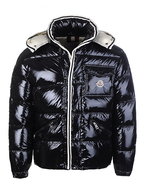 Cheap Moncler Jackets For Men Black MC1183 Sale