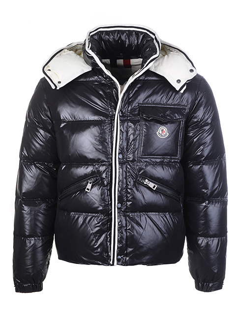 Cheap Moncler Jackets For Men Black MC1185 Sale