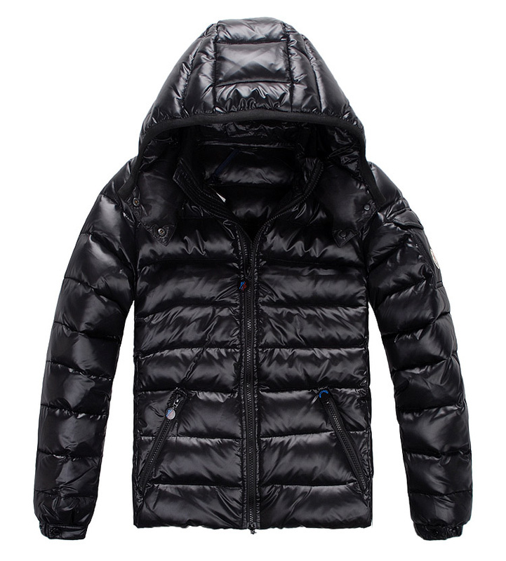 Cheap Moncler Jackets For Men Black MC1278 Sale