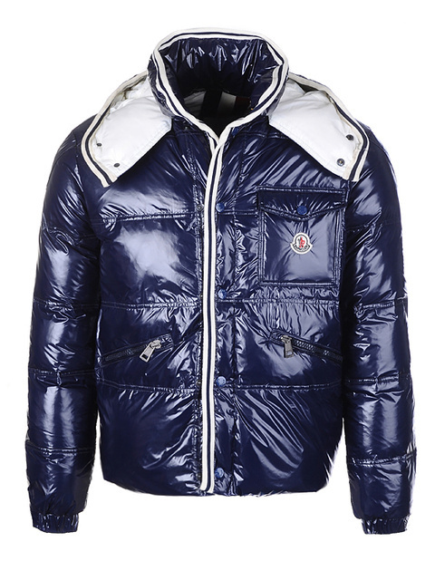 Cheap Moncler Jackets For Men Blue MC1184 Sale