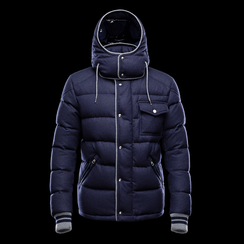 Cheap Moncler Jackets For Men Blue MC1313 Sale