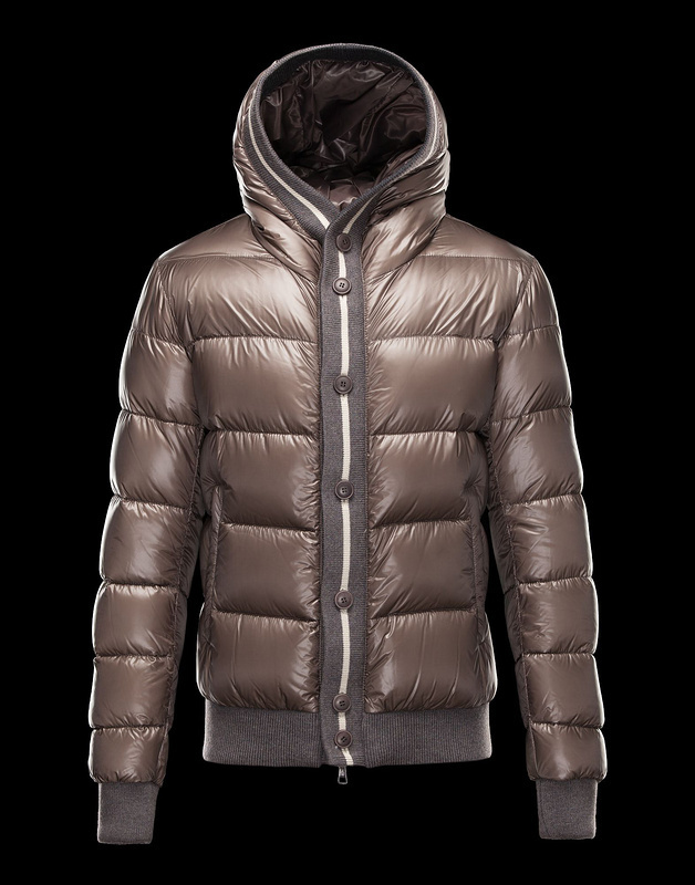 Cheap Moncler Jackets For Men Brown MC1039 Sale