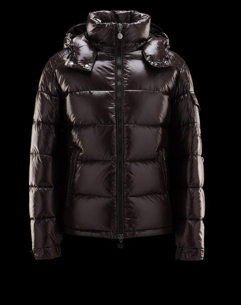 Cheap Moncler Jackets For Men Brown With Mock Collar MC1209 Sale
