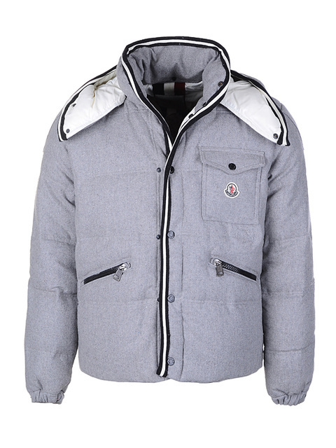 Cheap Moncler Jackets For Men Grey MC1182 Sale