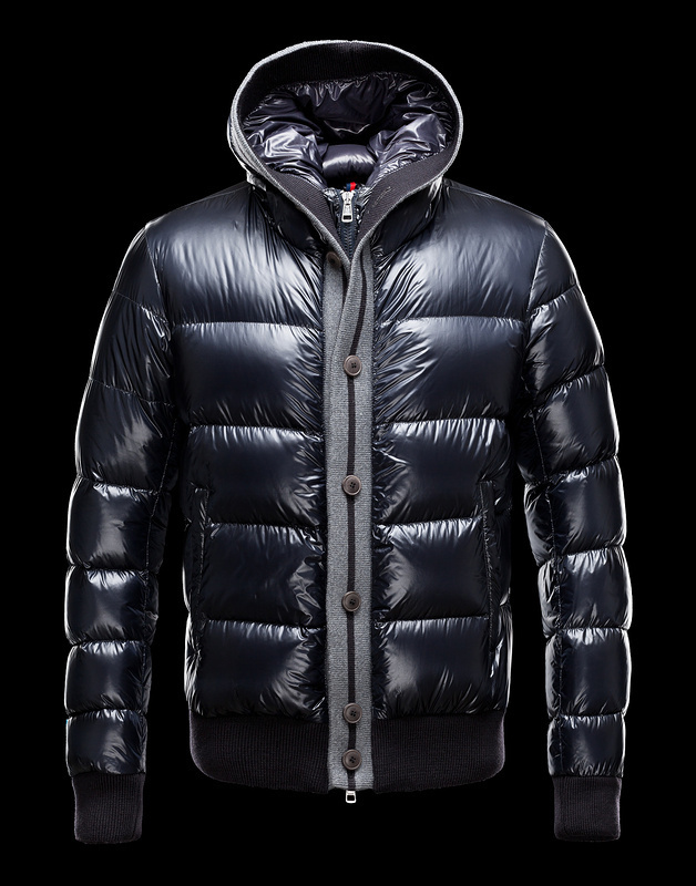 Cheap Moncler Jackets For Men Navy MC1038 Sale