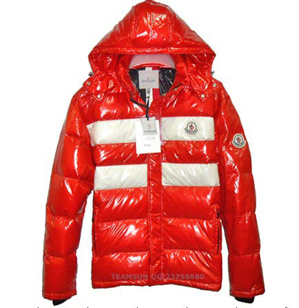 Cheap Moncler Jackets For Men Red MC1119 Sale