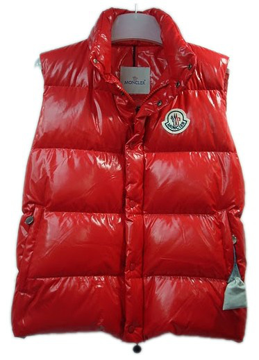 Cheap Moncler Men Down Vest Red MC1461 Sale