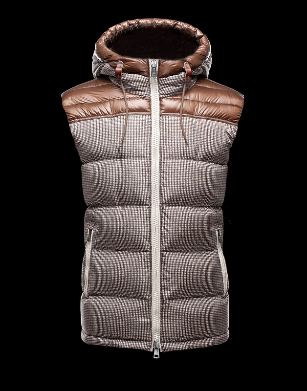 Cheap Moncler Vest Men Claret_Grey MC1041 Sale
