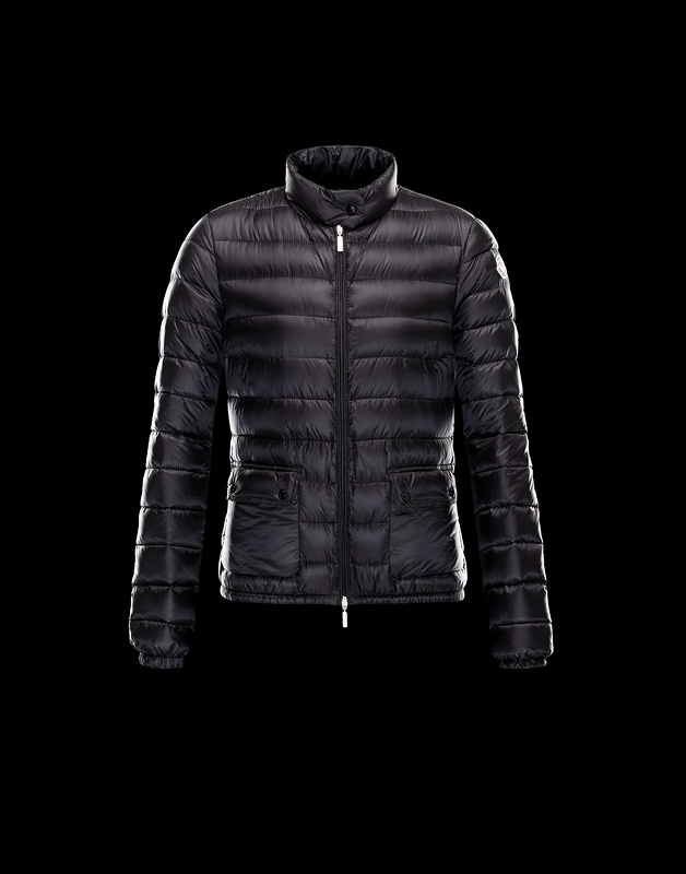 New Cheap Moncler Women Coats Black Sale NA1045