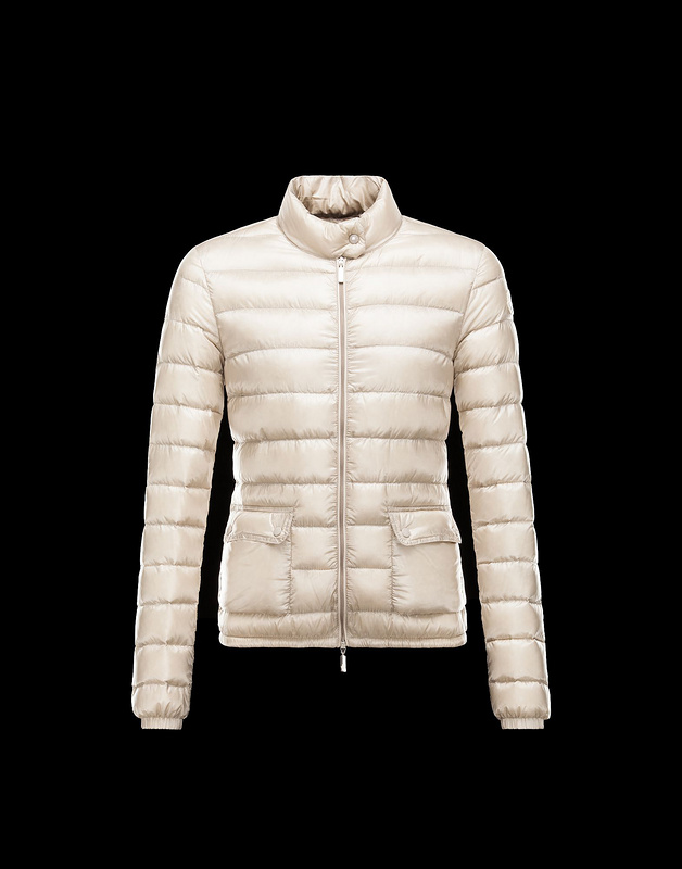 New Cheap Moncler Women Coats Ivory White Sale NA1046