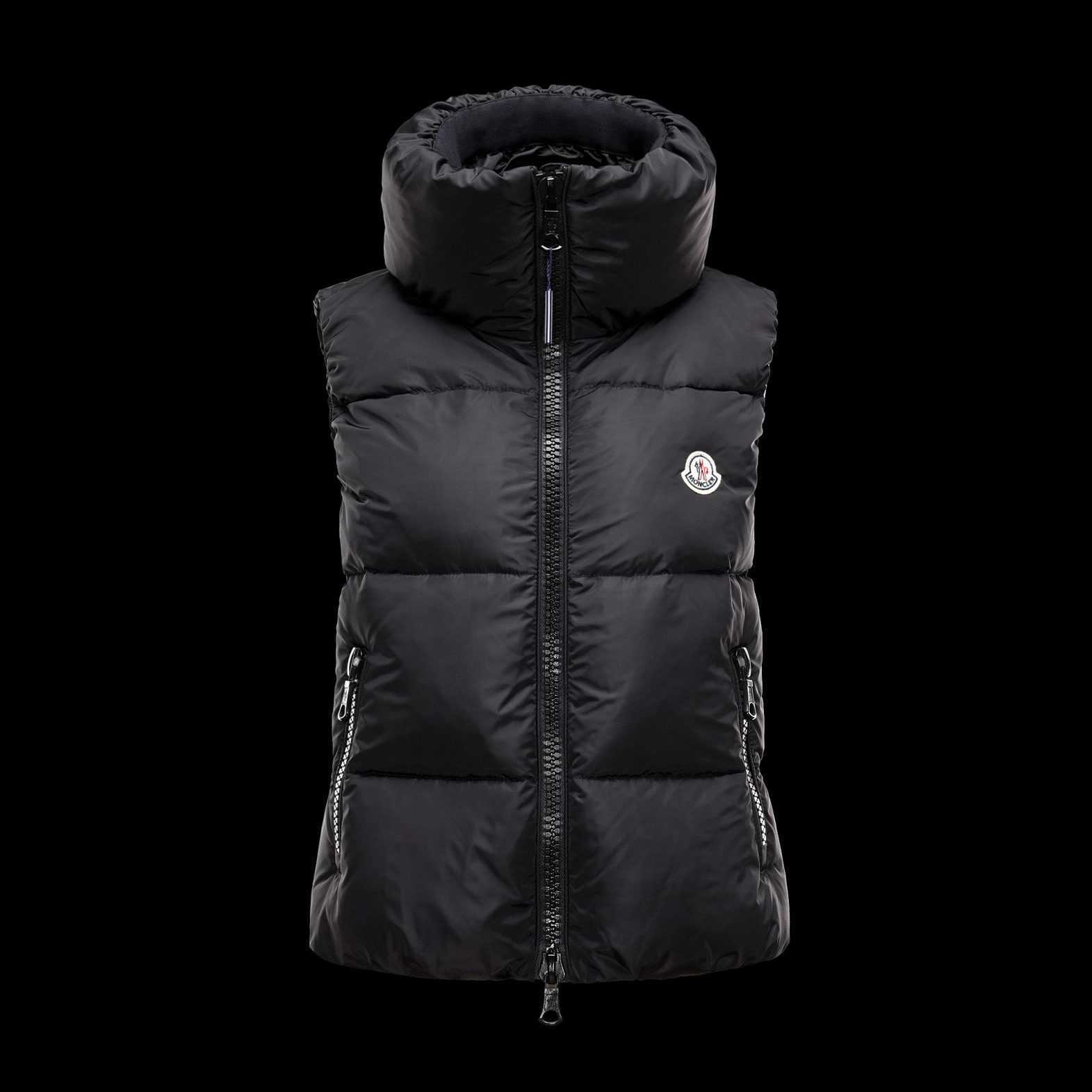 Cheap Moncler Down Vest Women Brown MC1330 Sale