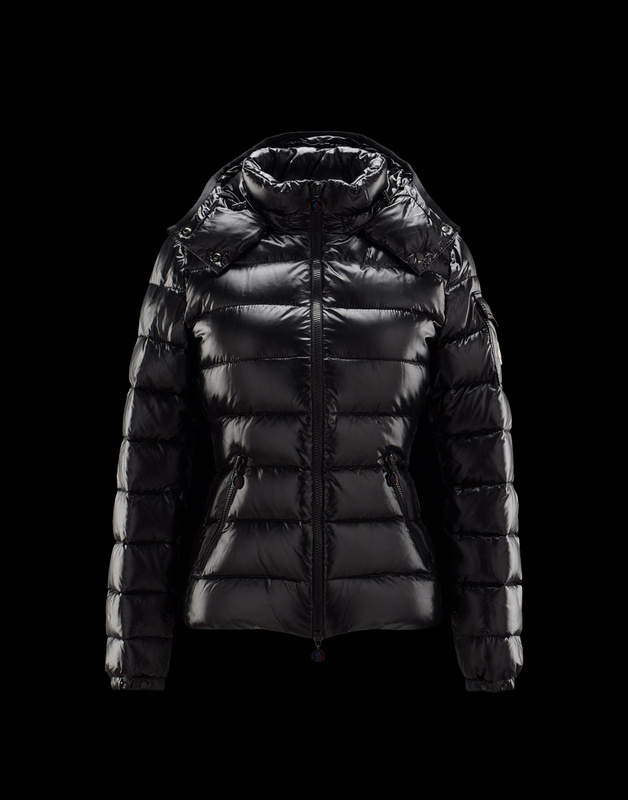 Cheap Moncler Jackets For Women Black With Mock Collar MC1056 Sale