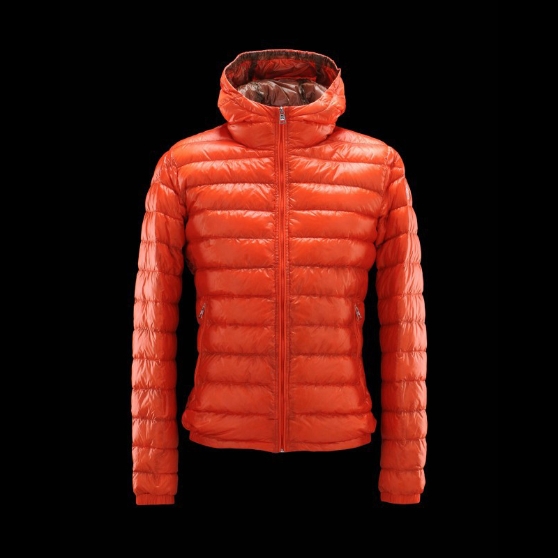Cheap Moncler Jackets For Women Orange MC1353 Sale