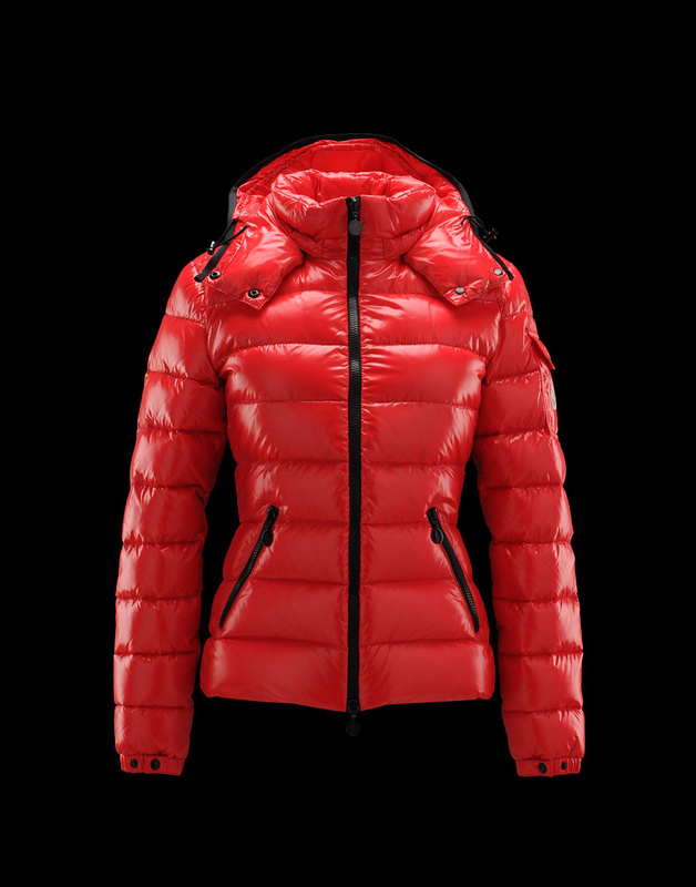 Cheap Moncler Jackets For Women Red Mock With Collar MC1055 Sale