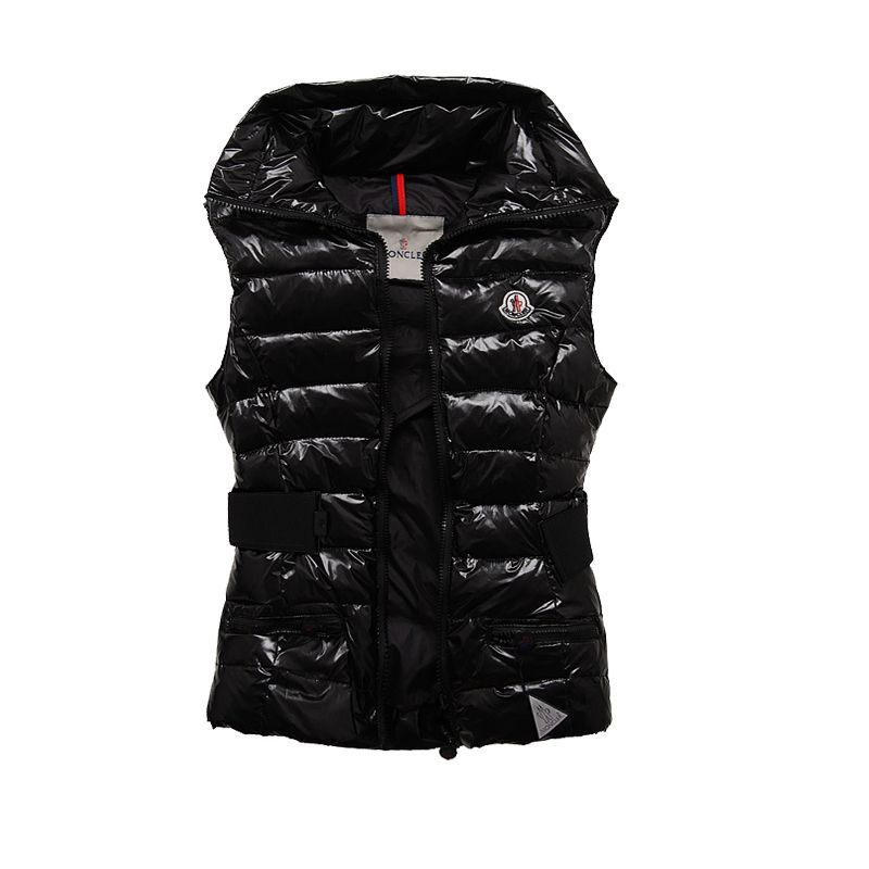 Cheap Moncler Vest Women Black MC1227 Sale