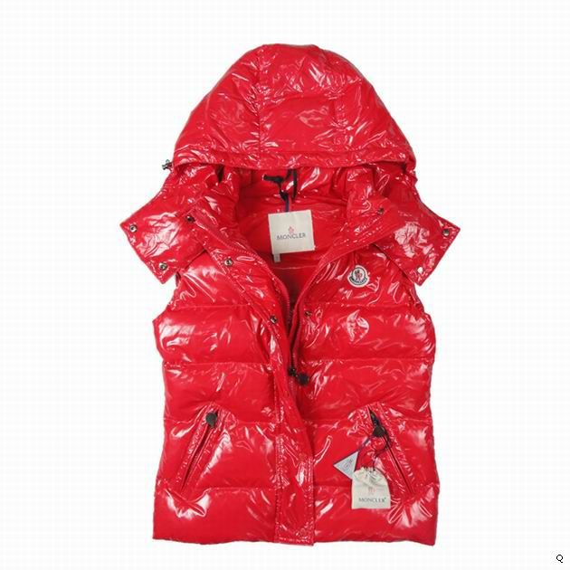Cheap Moncler Vest Women Red MC1229 Sale