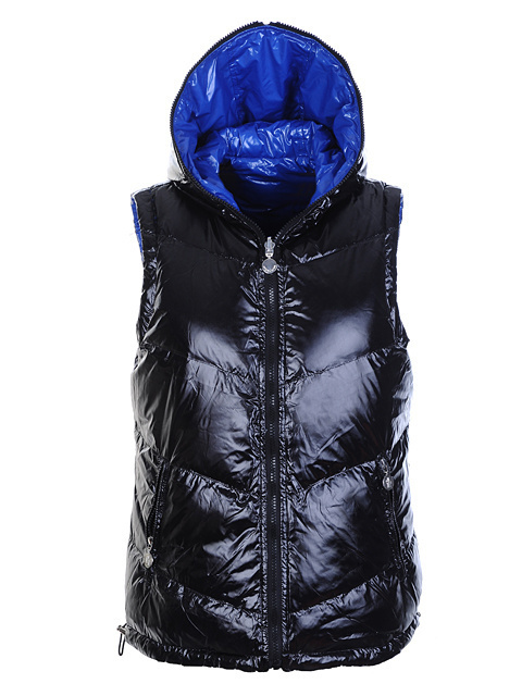 Cheap Moncler Women Down Vest Black MC1429 Sale