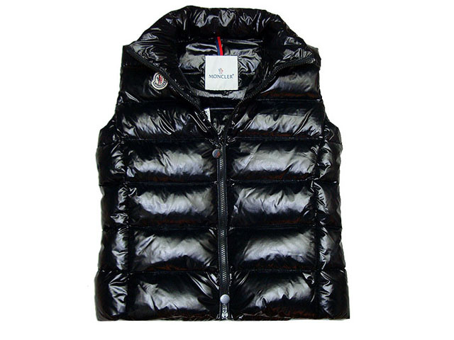Cheap Moncler Women Down Vest Black MC1466 Sale