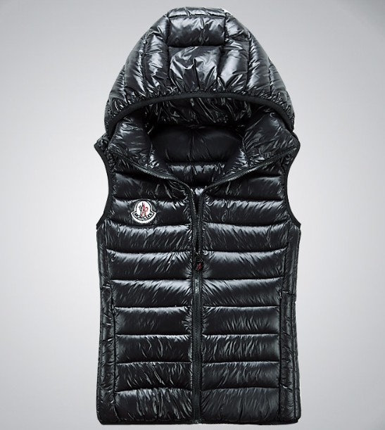 Cheap Moncler Women Down Vest Navy MC1422 Sale