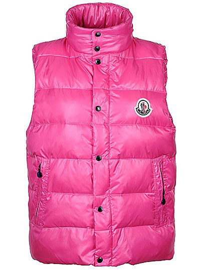 Cheap Moncler Women Down Vest Pink MC1455 Sale