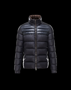New Cheap Moncler Men Jackets Blue and Black Sale NA1017