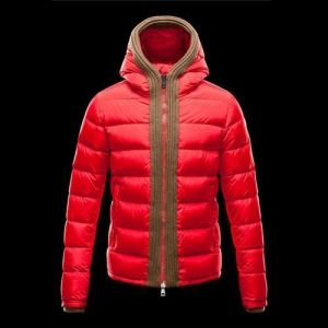 Cheap Moncler Down Jackets For Men Red MC1315 Sale