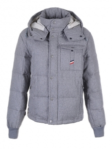 Cheap Moncler Jackets For Men Grey With Mock Collar MC1219 Sale