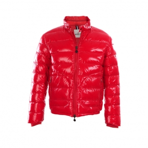 Cheap Moncler Down Jackets For Men Red MC1371 Sale